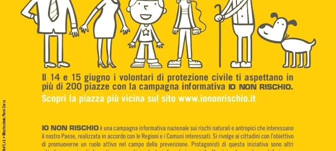 IO NON RISCHIO: buone pratiche di protezione civile