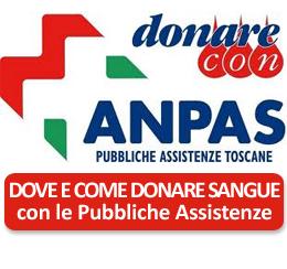 Donare sangue con le Pubbliche Assistenze