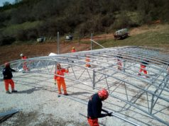 tensostruttura stalla Anpas Toscana