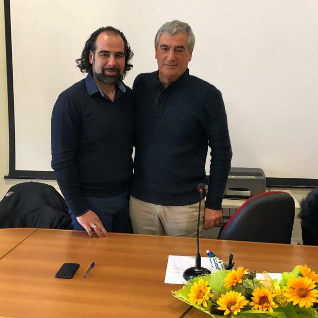 Dimitri Bettini con Attilio Farnesi
